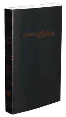 Biblia RVA/Economica/Negro/Letra Grande (Rústica) [Biblia]