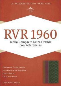 Biblia Compacta Letra Grande Referencias (Imitación Piel) [Biblia]