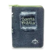Biblia Jean Cierre Con Indice Acolchada Verde (Jean con cierre) [Biblia]