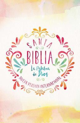 Biblia Acuarela Económica NVI (Rústica)