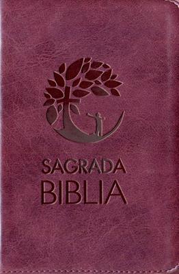 Biblia Con Cierre Vino-tinto