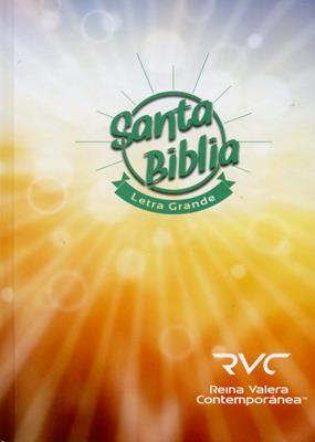 Biblia Letra Grande Tapa Dura (Tapa Dura) [Biblia]