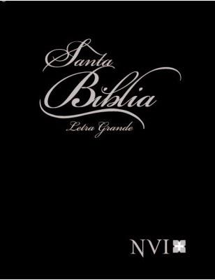 Biblia NVI Letra Grande (Tapa Dura) [Biblia]