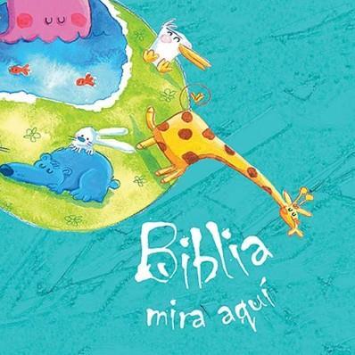 Biblia Mira Aquí (Tapa Dura)