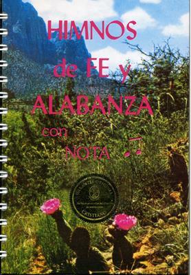 Himnario Fe y Alabanza Notas (Tapa Dura) [Himnario]