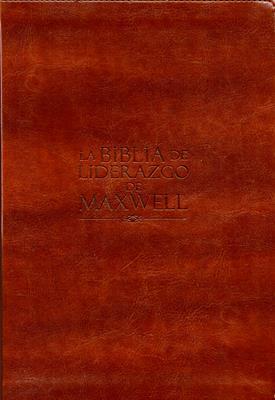 Biblia De Liderazgo Maxwell Piel (Piel Especial) [Biblia]