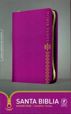 Biblia Edicion Ziper - Fucsia (Piel Especial con Cierre) [Biblia]