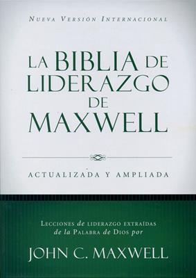 Biblia De Liderazgo De Maxwell Tapa Dura (Tapa Dura) [Biblia]