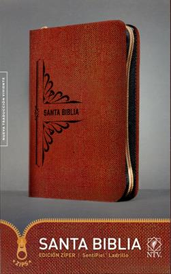 Biblia Edicion Ziper - Ladrillo (Piel Especial con Cierre) [Biblia]