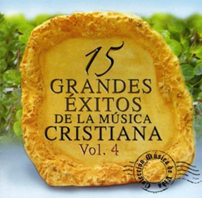 15 Grandes éxitos de la música cristiana Vol  4 [CD]