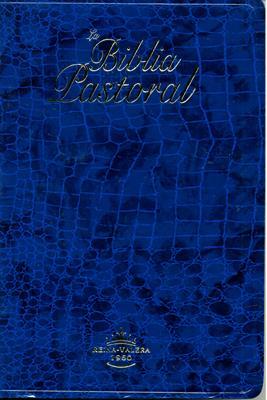 Biblia Tamaño 065CLG Pastoral  Azul (Imitación Piel) [Bíblia]
