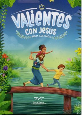Biblia RVC Valientes con Jesús (Tapa Dura) [Biblia]