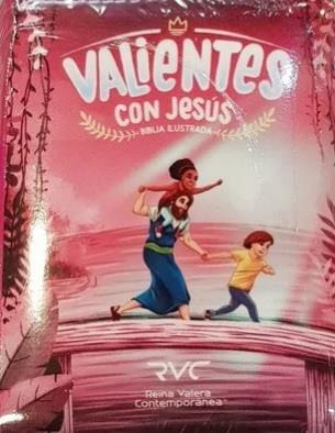 Biblia RVC Valiente Con Jesus Magenta C-Fucsia (Cierre plastificada) [Biblia]