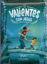 Biblia RVC Valientes Azul Cierre (Cierre plastificada) [Biblia]