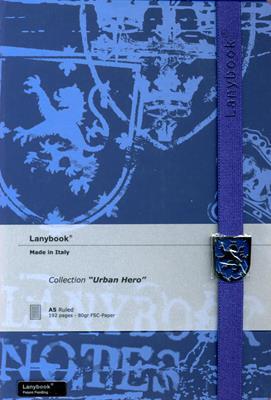 Lanybook Urban Hero Azul Osuro (Simil Piel) [Agenda]
