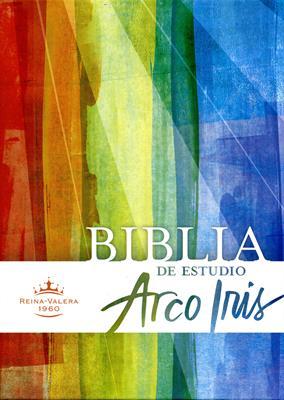 Biblia arco iris piel fabricada