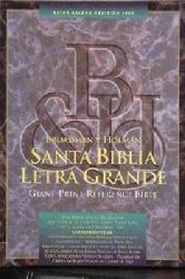 Biblia  Letra Grande/Referencia  Piel Fabricada (Piel fabricada) [Biblia]
