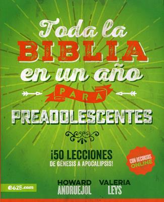 Toda La Biblia En Un Año Preadolescentes (Rústica) [Libro]