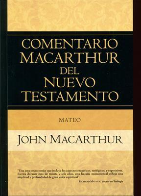 Comentario MacArthur Del Nuevo Testamento Mateo (Tapa Dura) [Libro]