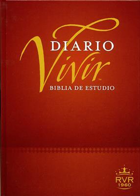 Biblia De Estudio Diario Vivir Nueva Edición (Tapa Dura) [Biblia]