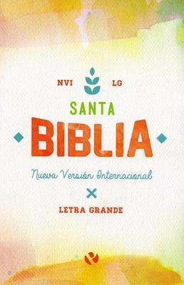 Biblia 060 Letra Grande Rustica Acuarela (Rústica) [Biblia]