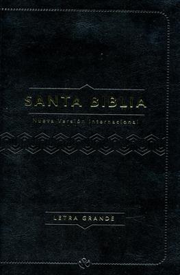 Biblia 060 Letra Grande Cuero Italiano Negro (Cuero italiano) [Biblia]