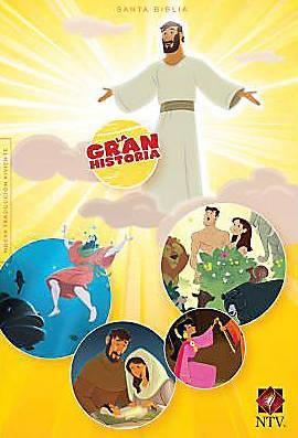 Biblia Interactiva La Gran Historia (Tapa Dura) [Biblia]