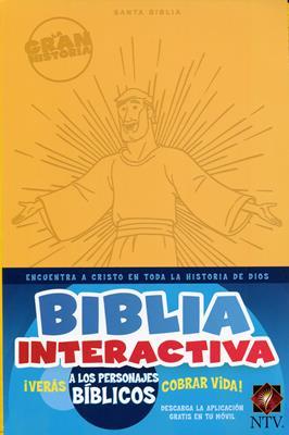 Biblia Interactiva La Gran Historia (Simil Piel) [Biblia]
