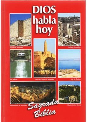 Biblia DHH Letra Grande Tapa Dura color Rojo (Tapa Dura Imagenes) [Bíblia]