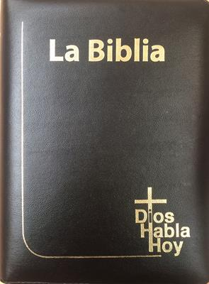 Biblia DHH Version Popular Tamaño085DKZLGia Letra Gigante - Negro (Imitacion) [Biblia]