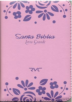 Biblia RVC Tamaño 045 Rosado (imitación piel(percalina)) [Biblia]