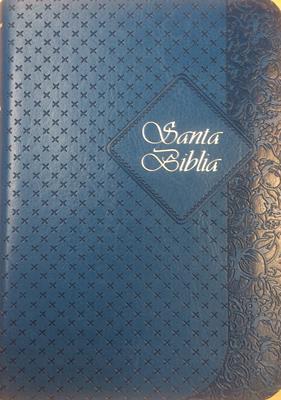 Biblia Tamaño025 con Indice - Turquesa (Imitación Piel) [Biblia]