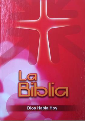 Biblia DHH Version Popular Tamaño83DKLGi Letra Gigante -Rojo (Tapa Dura) [Biblia]
