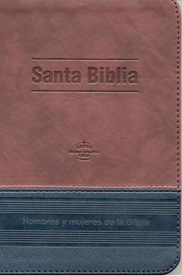 Biblia RVR60 tamaño 065CZTI Hombre y Mujeres de la Biblia (Imitación Piel) [Biblia]
