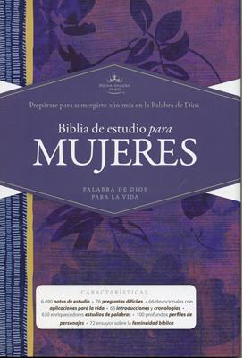Biblia RVR60 de Estudio para Mujeres (Tapa Dura) [Biblia]