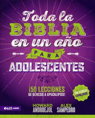 Toda La Biblia En Un Año Para Adolescentes (Rústica) [Cartilla]
