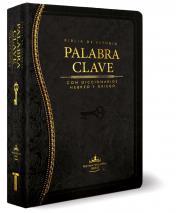 Biblia de Estudio Palabra Clave (Piel Especial Negro) [Biblia]