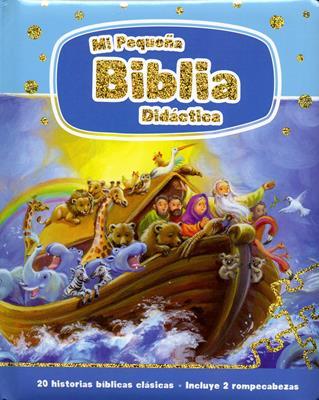 Mi Pequeña Biblia Didactica (Acolchada) [Biblia]