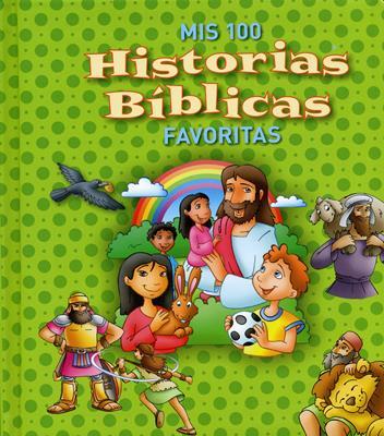 Mis 100 Historias Biblicas Favoritas (Acolchada) [Libro]