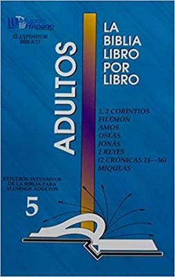 Biblia Libro Por Libro/Adultos/Alumno 05 (Tapa rústica suave)