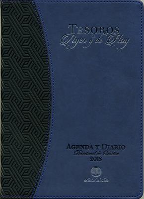Agenda 2018/Tesoros De Ayer Y De Hoy/Azul (Imitación Piel ) [Álbum]