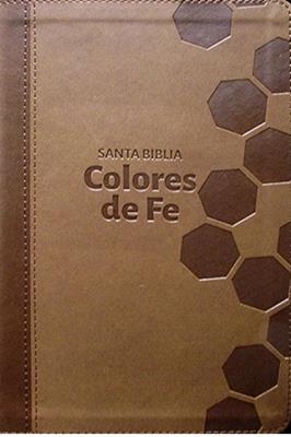 Biblia Colores De Fe Piel Italiana
