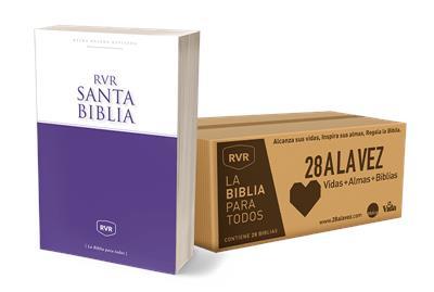 Caja De Biblias Misionera 28 A La Vez (Rústica) [Caja de Biblias]