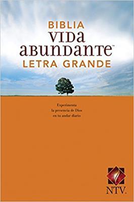 Biblia NTV Vida Abundante Letra Grande (Rústica) [Biblia]