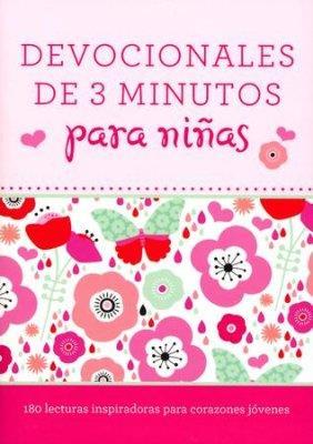 Devociones De 3 Minutos Para Niñas (Rústica) [Libro]