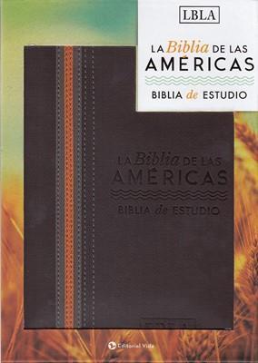 Biblia De Las Americas De Estudio (Piel) [Biblia de Estudio]