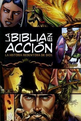 La Biblia En Acción (Tapa Dura) [Biblia]