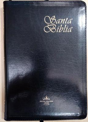 Biblia Tamaño 067 Semifina Negro (Imitación Piel) [Biblia]