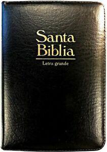 Biblia Tamaño 055CZI Concordancia Extensa Negro (Imitación Piel) [Biblia]