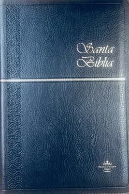 Biblia RVR60 Semifina Cierre Indice Azul Oscuro (Flexible Imitación Piel Azul ) [Bíblia]
